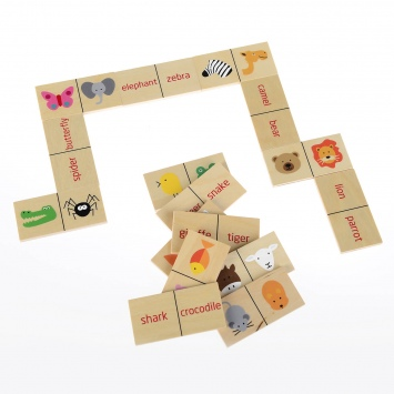 PILCH Gra edukacyjna DOminoes - English Eater