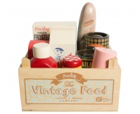 MAILEG Zestaw Artykułów Spożywczych w skrzynce Vintage