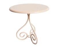 MAILEG Metalowy stolik kawowy - jasnoróżowy