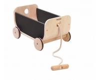 PLAN TOYS Wózek – wagon czarny