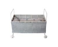 MAILEG Metalowe łóżeczko niemowlęce