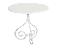 MAILEG Metalowy stolik kawowy - biały