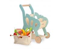 LE TOY VAN Drewniany wózek na zakupy