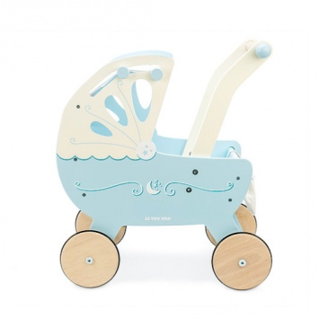 LE TOY VAN Niebieski wózek dla lalek Moonlight