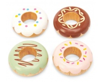LE TOY VAN Drewniane donuty - 4 szt