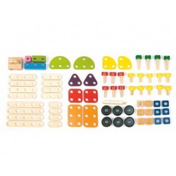 PINTOY Zestaw konstrukcyjny 69 elementów