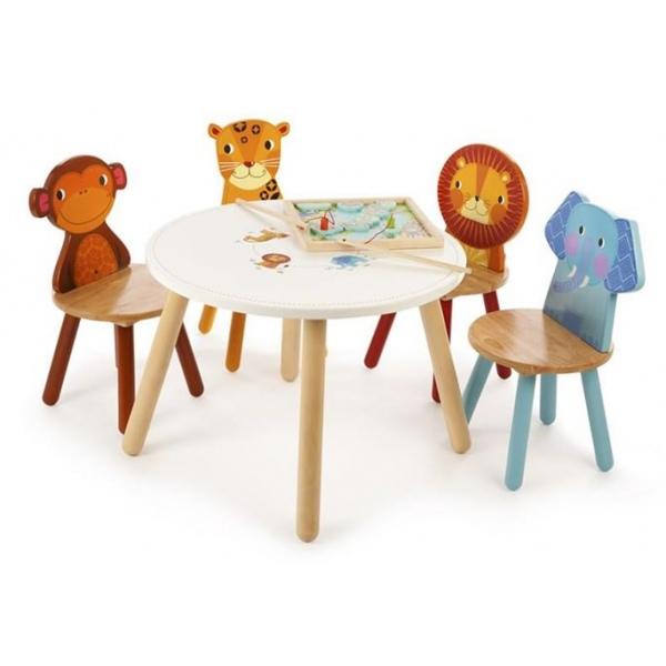 Tidlo Dziecięcy Stolik Quot Safari Animal Table Quot Piccoland