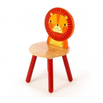 TIDLO Krzesełko dziecięce - Lew