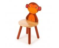 TIDLO Krzesełko dziecięce - Małpka