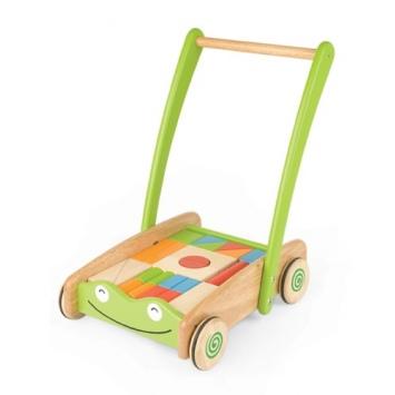 PINTOY Wózek z klockami