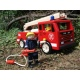 PINTOY Drewniany wóz strażacki