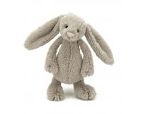 JELLYCAT Beżowy króliczek Bashful Bunny (mały 18 cm)