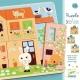 DJECO Domek króliczków, puzzle dla najmłoszych 3 plansze