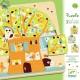 DJECO Domek na drzewie, puzzle dla najmłoszych 3 plansze