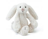 JELLYCAT Kremowy króliczek Bashful Bunny (mały 18 cm)