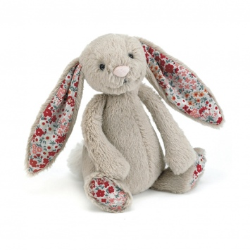 JELLYCAT Beżowy króliczek Blossom Bunny (mały 18 cm)