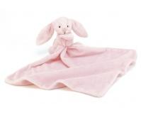"""JELLYCAT Różowy kocyk z przytulanką """"Bashful Bunny"""""""