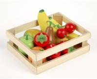 TIDLO Drewniany zestaw - Owoce na sałatkę