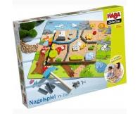 HABA Przybijanka z puzzlami -  W zoo