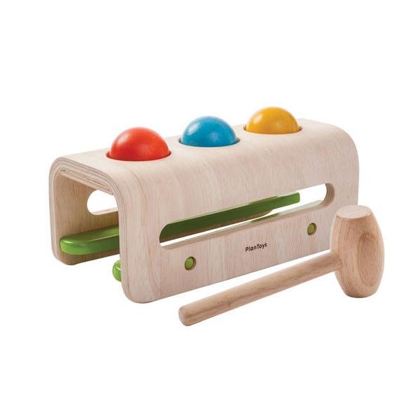 Pound A Ball Toy Toys : Warsztat z młotkiem i kulkami marki plan toys