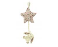 JELLYCAT Pozytywka Króliczek Blossom Bunny z gwiazdą