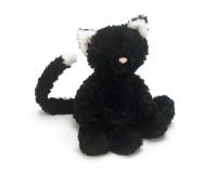 JELLYCAT Czarny kotek Fuddlewuddle - średni