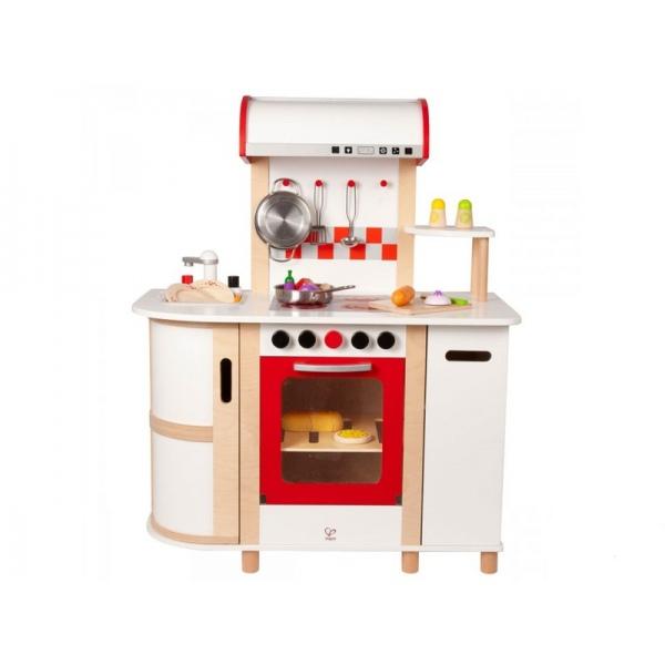 Wielofunkcyjna drewniana kuchnia dla dzieci marki Hape