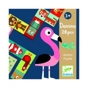 DJECO Domino Animo - gra edukacyjna