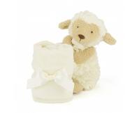 JELLYCAT Owieczka Lollie Lamb z kocykiem