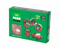 PLUS-PLUS Klocki mini basic 3w1 - zestaw 220 szt.