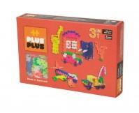 PLUS-PLUS Klocki mini neon 3w1 - zestaw 480 szt.