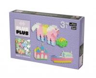 PLUS-PLUS Klocki mini pastel 3w1 - zestaw 480 szt.
