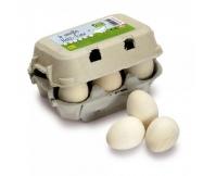 ERZI Jaja białe - 6 szt. w wytłoczce