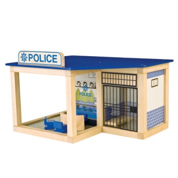PINTOY Drewniany posterunek policji