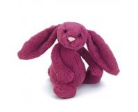 JELLYCAT Malinowy króliczek Bashful Rose Bunny (duży 36 cm)