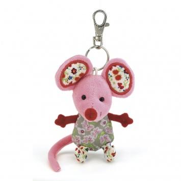"""JELLYCAT Breloczek do kluczy – myszka """"Rosie Mousey"""""""