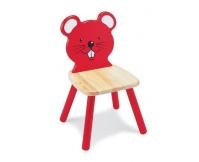 PINTOY Krzesełko dziecięce Myszka