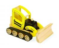 PINTOY Spychacz - drewniany pojazd budowlany