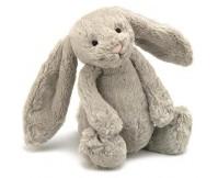 JELLYCAT Beżowy króliczek Bashful Bunny (średni 31 cm)