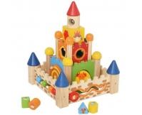 I'M TOY Drewniany domek wieża