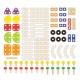 PINTOY Drewniany zestaw konstrukcyjny 100 elementów