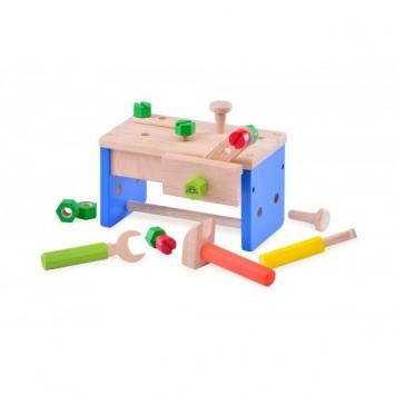 WONDERWORLD Drewniana skrzynka narzędziowa - mini warsztat