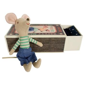 MAILEG Myszka w pudełeczku - duży braciszek