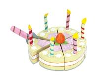 LE TOY VAN Tort waniliowy ze świeczkami