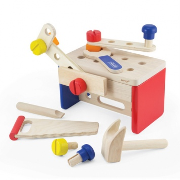 PINTOY Mini warsztat, skrzynka z narzędziami