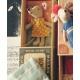 MAILEG Myszka w pudełeczku - mała siostrzyczka w sukience w groszki