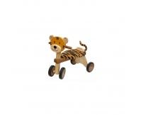 I'M TOY Drewniany jeździk Tygrysek