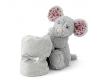 """JELLYCAT Kocyk z przytulanką """"Blossom Mouse"""""""