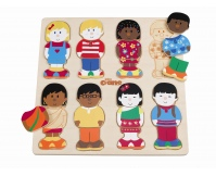 "TIDLO Puzzle - ubieranka ""Little Friends"""