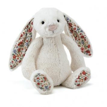JELLYCAT Kremowy króliczek Blossom Bashful Bunny (duży 36 cm)